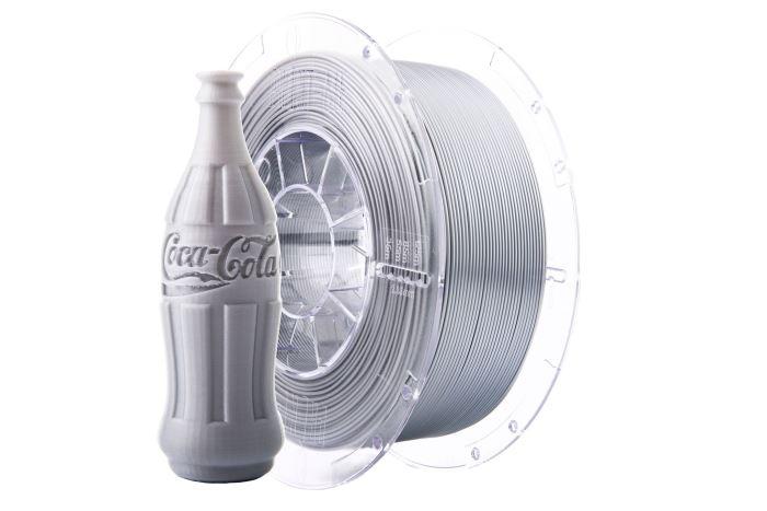 Tisková struna Swift PET-G hliník / aluminium, Print-Me, 1,75mm, 1kg