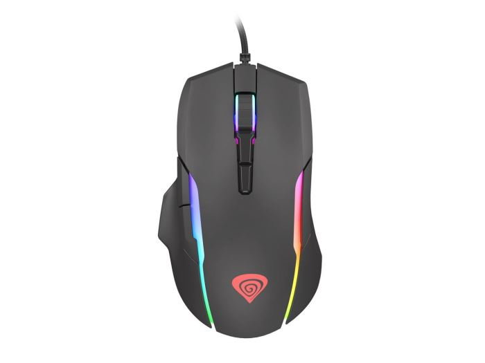 C-tech myš WLM-01 bezdrátová, černá
