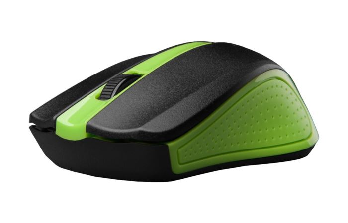 C-tech myš WLM-01 bezdrátová, zelená