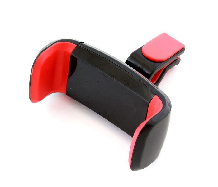 Univerzální držák mobilního telefonu do mřížky ventilaci, BLACK/RED