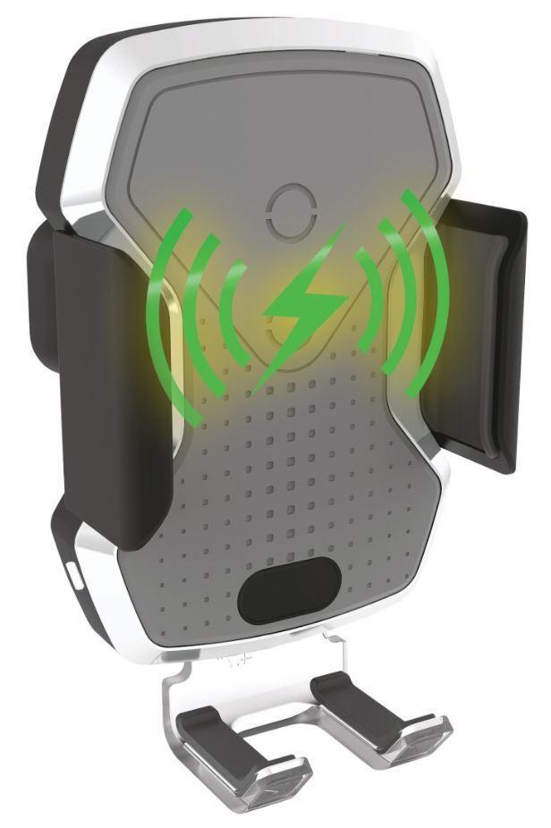 Držák telefonu LUKE-X s indukční nabíječkou 10W