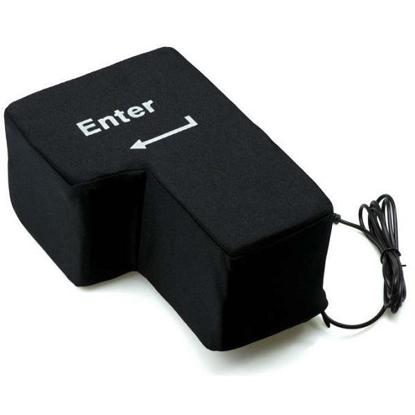 Enter tlačítko proti stresu, USB