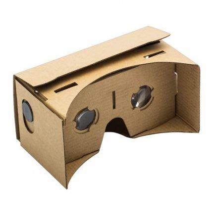 Kartonové brýle pro virtuální realitu