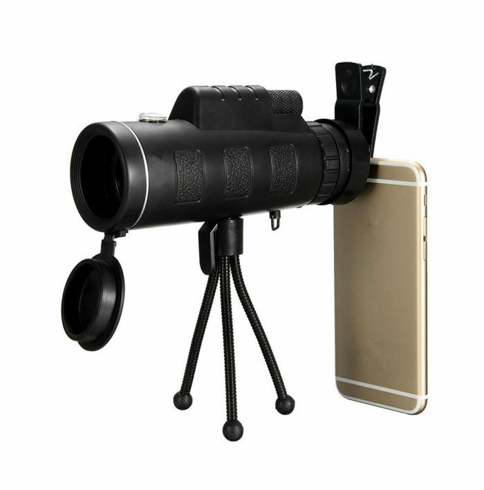 Teleskop na telefon se stativem, ZOOM 50x