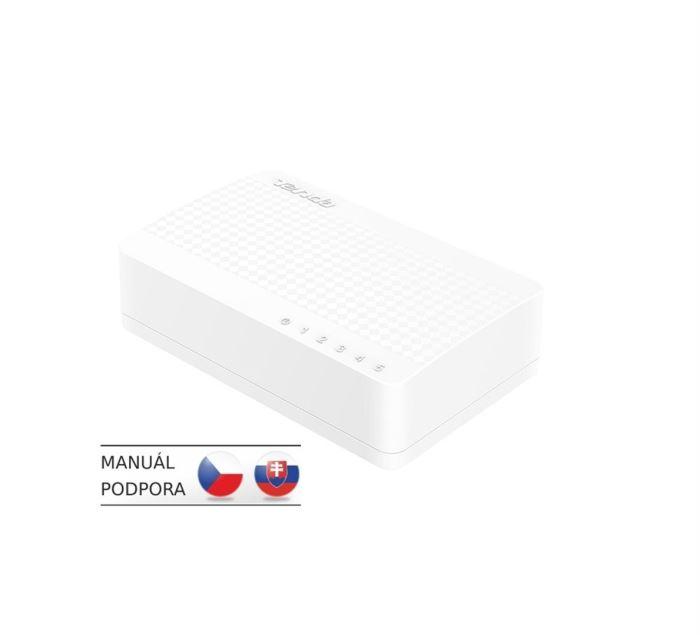 Switch Tenda S105 5 x 10/100 Mb/s Mini Eco Switch, Desktop, Auto MDI/M
