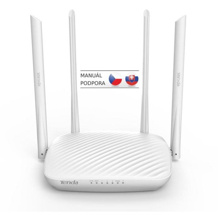 Router Tenda F9 WiFi N Router 600Mb/s, 802.11 b/g/n, WISP, Universal