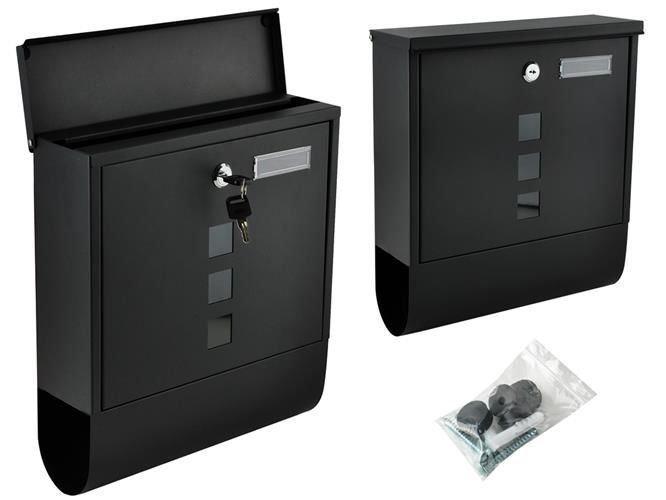 Poštovní schránka černá