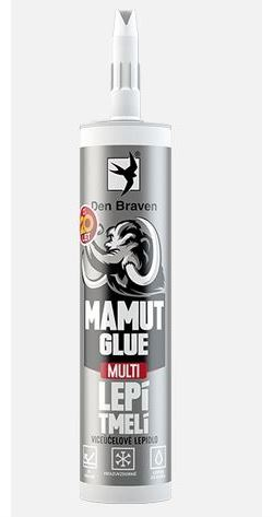 Lepidlo MAMUT GLUE Multi Den Braven, 290 ml, bílý