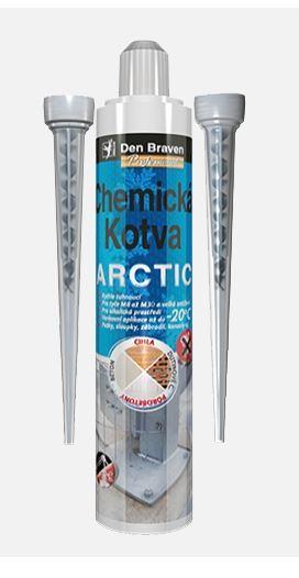 Chemická kotva ARTIC DEN BRAVEN, 300ml, šedá