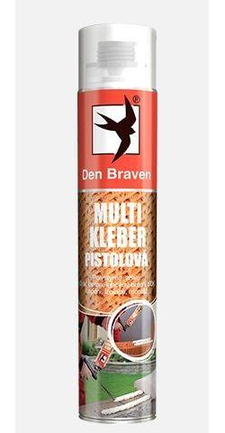 Pistolová pěna MULTI KLEBER DEN BRAVEN, 750 ml