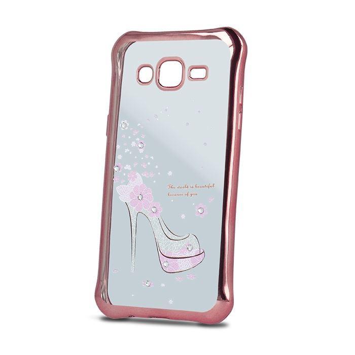 Silikonové pouzdro  Beeyo Girly  pro Huawei P8 Lite