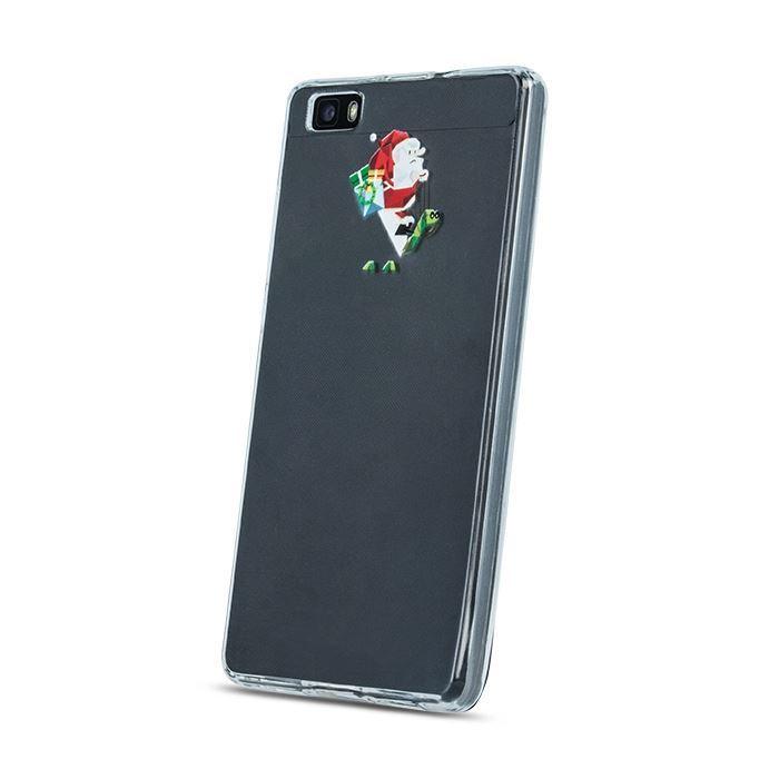 Silikonové pouzdro Santa claus pro Huawei P8 Lite
