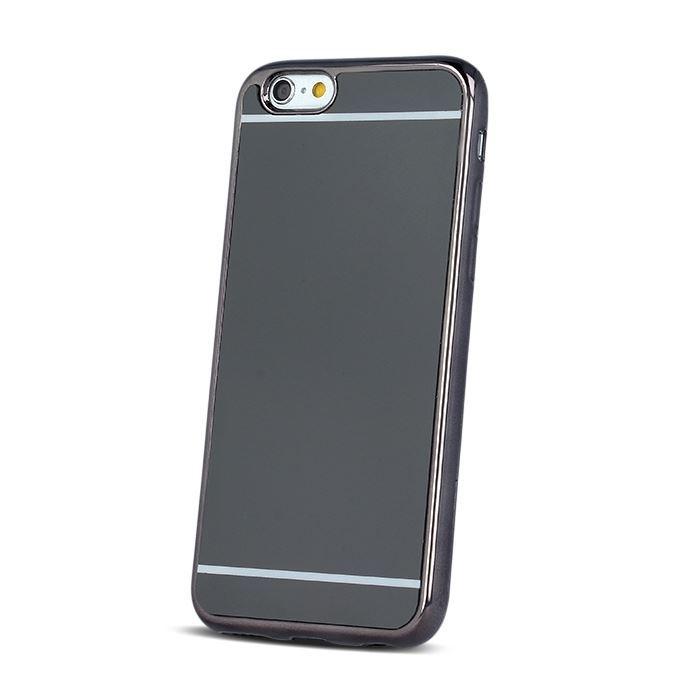 Silikonové pouzdro Mirror TPU pro Huawei Y5 II/ Y6 II Compact černé