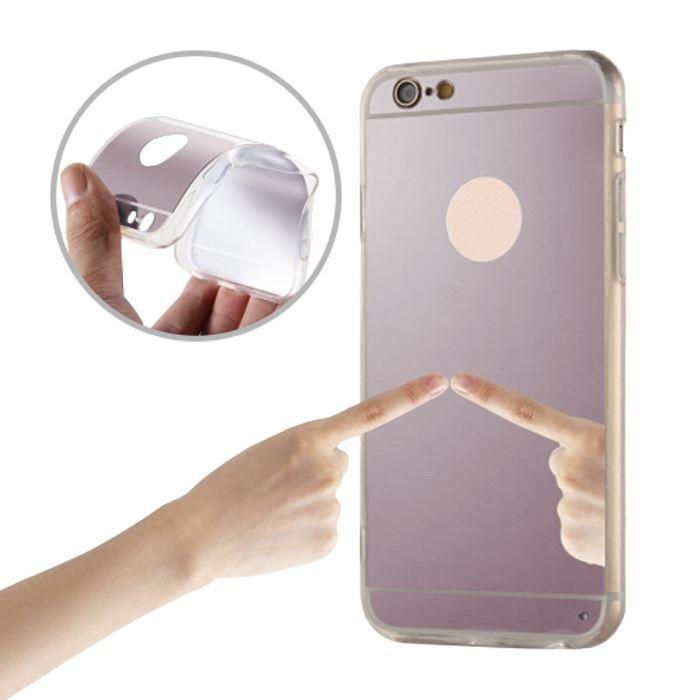 Silikonové pouzdro Mirror TPU pro Huawei Y3 II růžovozlatý