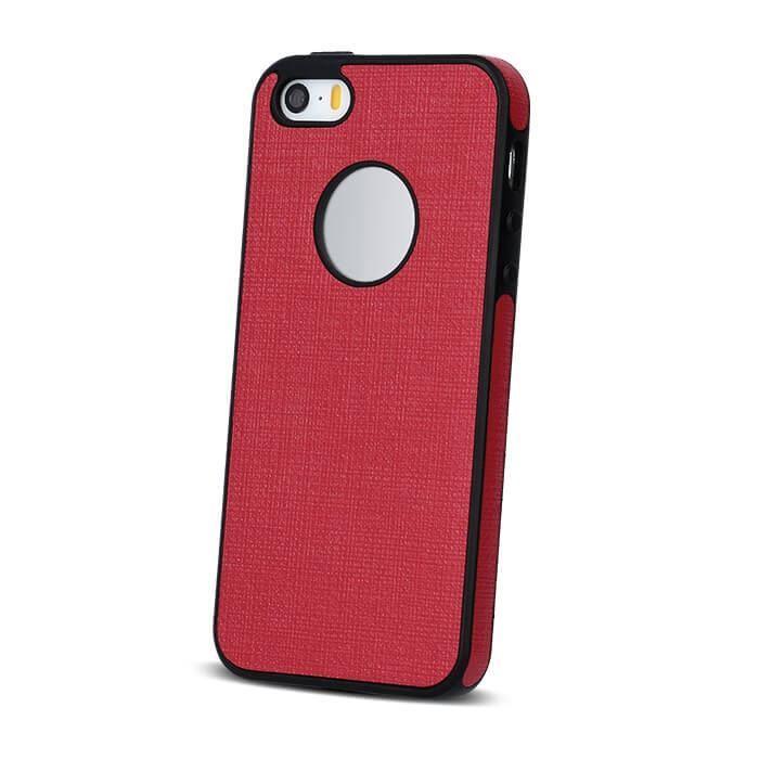 Silikonové pouzdro Cloth TPU pro iPhone 5/5s/5se