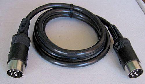 Kabel DIN6-DIN6  1m