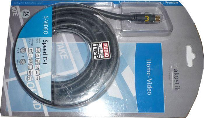 Kabel S VHS-S VHS 3m Inakustik Speed C1