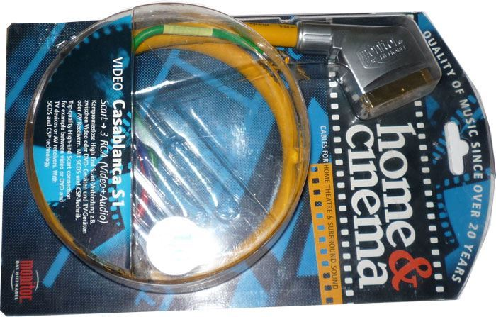 Kabel Scart OUT-3xCinch IN, 2m, Inakustik, CASABLANCA S1