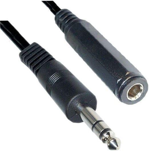 Kabel prodlužovací Jack 6,3 stereo 5m