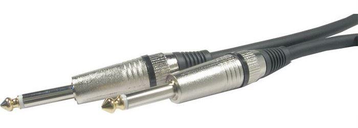 Kabel Jack 6,3 - Jack 6,3 mono, 5m, OFC kabel 6mm