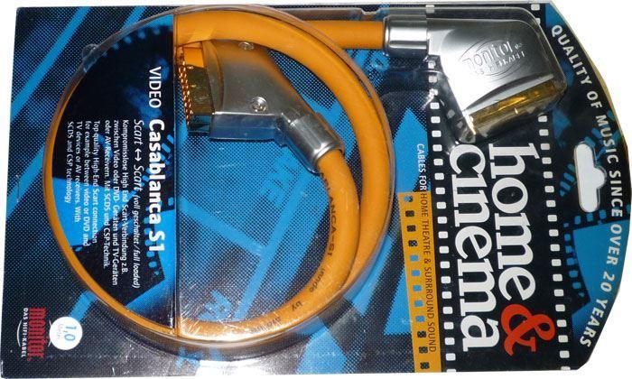 Kabel Scart-Scart 21pin, 1m, Inakustik, CASABLANCA S1
