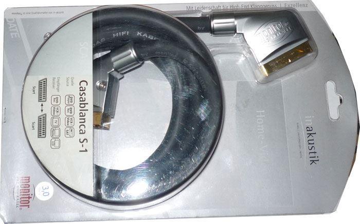 Kabel Scart-Scart 21pin, 3m, Inakustik, CASABLANCA S1