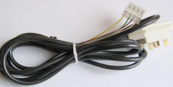 Telefonní kabel 3FF89723 černý 2m