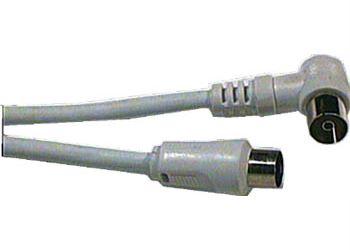 Účastnická šňůra-anténní kabel  1m, kombinované konektory