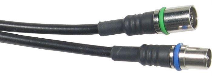 Účastnická šňůra-anténní kabel 3m WISI