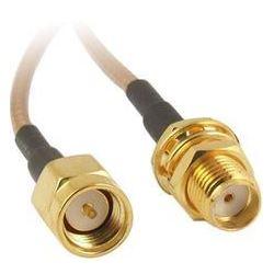Anténní kabel SMA konektor - SMA zdířka, spojka 10cm