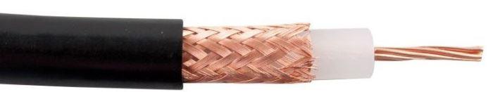 Koax 50ohm RG213-U, 10,2mm