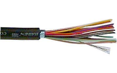 Stíněný kabel šestnáctižilový - 16x, společné stínění