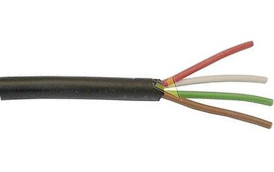 Kabel 4x0,75mm2 18AWG