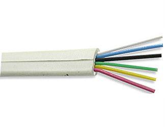 Telefonní kabel - 6linka bílá