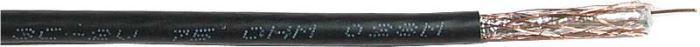 Koax 75ohm 3C-2V 5mm,černý