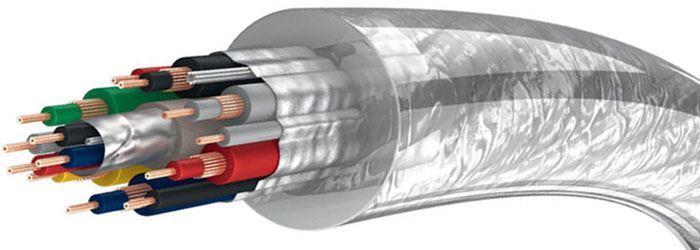 Kabel pro propojení Scart transparentní, Inakustik