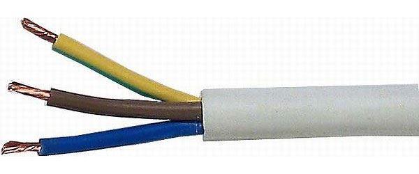 Kabel 3x2,5mm2 H05VV-F (CYSY3x2,5mm)