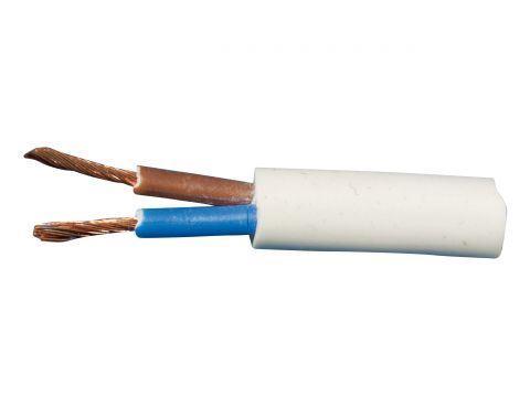 Kabel HO5VVF 2D x 0.75 bílý CYSY