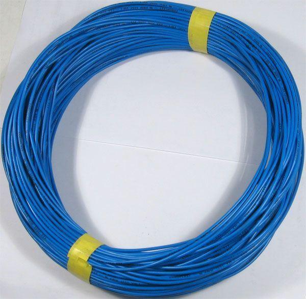 Vodič-lanko 0,5mm2 modrý 105°, balení 100m