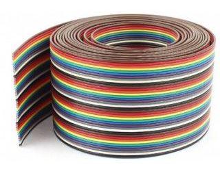 Kabel plochý Dupont  26AWG 40x0,13mm2, rozteč 1,27mm  /PNLY/