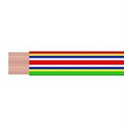 Kabel plochý VFL 4x0,15mm2 / dříve PNLY