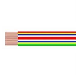 Kabel plochý VFL 20x0,35mm2, / dříve PNLY