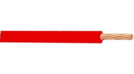 Vodič H05V-K CYA, lanko Cu 1mm2, červený