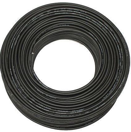 Solární kabel PV1-F, 6mm2, 1kV, černý, balení 100m