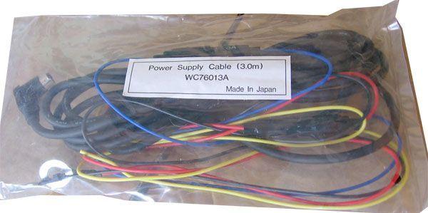 Zdrojové kabely k audiozařízení v autě