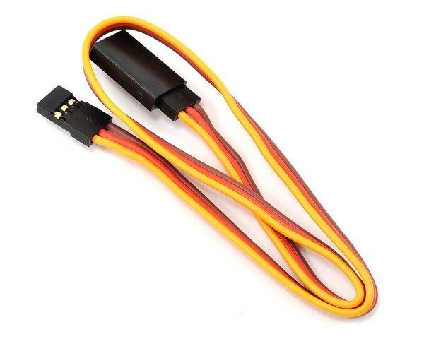 Plochý prodlužovací kabel serva s konektorem JR - 15cm