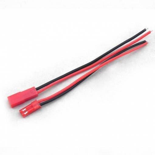 Napájecí RC kabely s koncovkami 20cm + 20cm (22AWG)