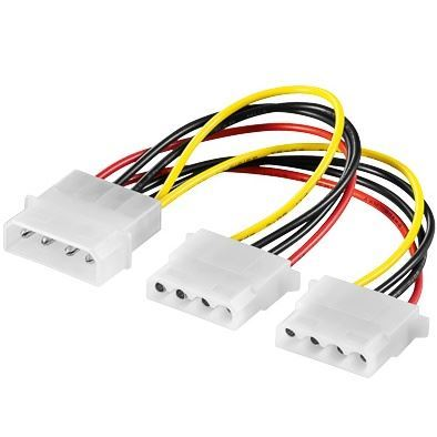 """Napájecí kabel k HDD 5,25"""" na 2 x 5,25"""""""