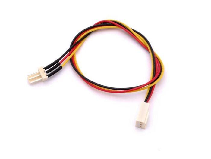 Prodlužovací kabel k ventilátoru PC (3P/3P) 30cm