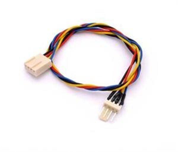 Prodlužovací kabel k ventilátoru procesoru PC (4P/4P) 30cm